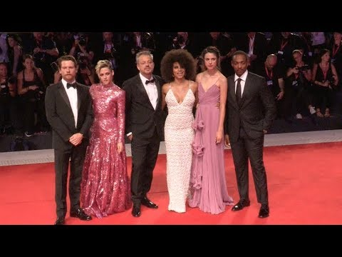 Kristen Stewart and Seberg Cast on the red carpet in Venice