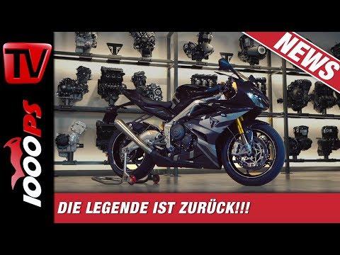 Triumph Daytona Moto2 765 Limited Edition 2019 - Die Legende ist zurück!