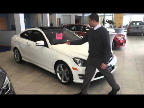 Sales Person Justin Small takes us on a quick tour of a beautiful 2015 C350 Coupe!