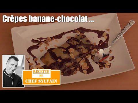 crepe-banane-chocolat---recette-par-chef-sylvain