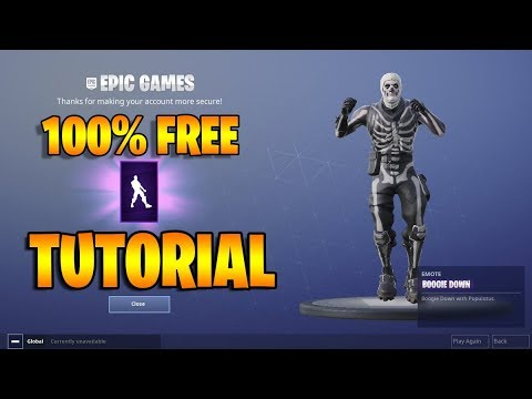 *100% FREE* HOW TO GET/CLAIM BOOGIE DOWN DANCE EMOTE - Fortnite Battle Royale