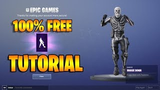 *100% GRATIS* COMO OBTENER/RECLAMAR BOOGIE DOWN DANCE EMOTE - Fortnite Battle Royale