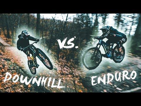ENDURO vs. DOWNHILL - Bike Challenge! | Luis Gerstner ft. Synergy Media