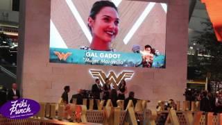 Gal Gadot en la Alfombra de Mujer Maravilla en México