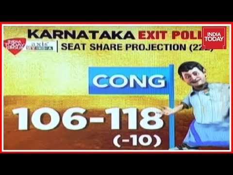 Congress To Win Karnataka Assembly Polls  India Today Exit Poll