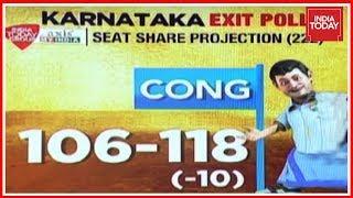 Congress To Win Karnataka Assembly Polls | India Today Exit Poll