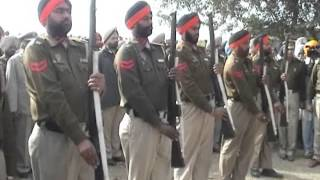 Guard of Honour for Punjab Police ASI Killed Protecting Daughter from Eve Teasing in Amritsar