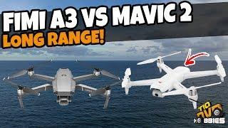 FIMI A3 VS MAVIC 2 PRO LONG RANGE DO NOVO DRONE DA XIAOMI