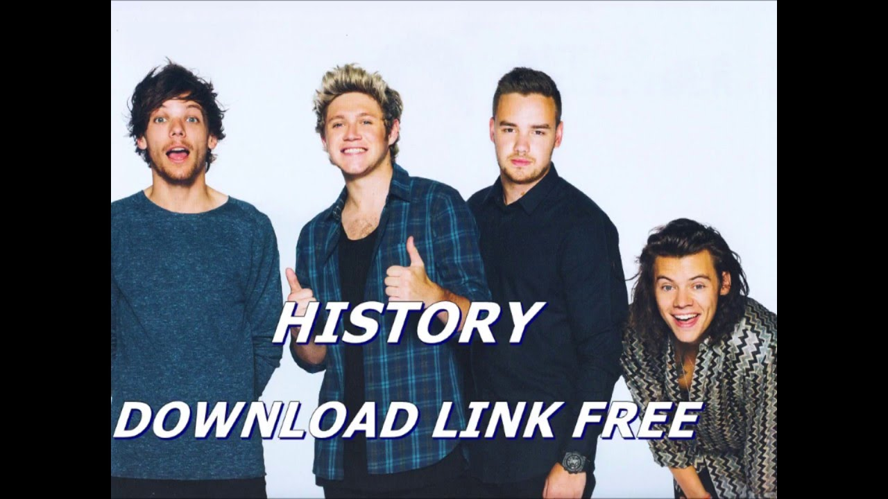 ONE DIRECTION-- HISTORY (AUDIO) (DOWNLOAD LINK MP3 FREE