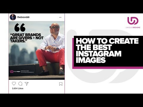 How to Create the BEST Instagram Images - The Brand Doctor