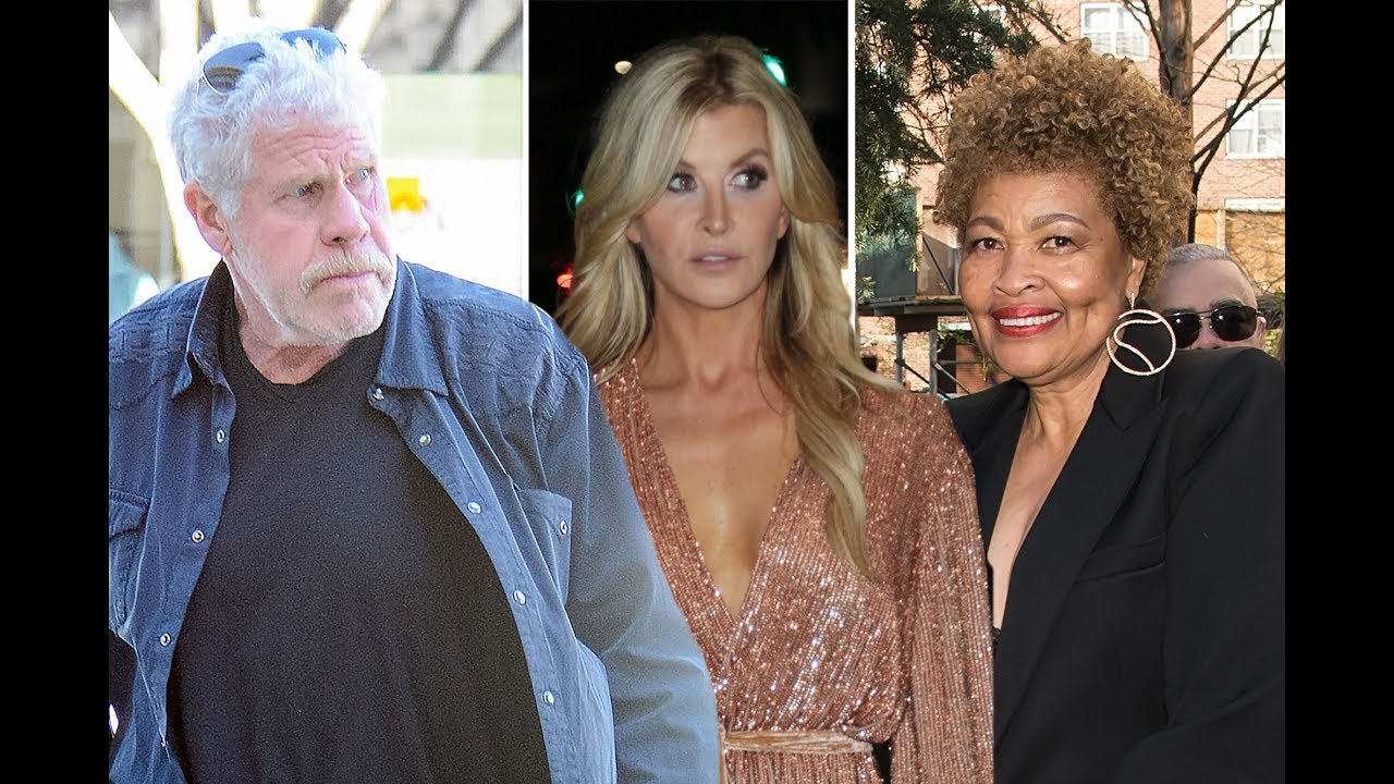 Actor Ron Perlman files for divorce from wife of 38 years after kissing ...