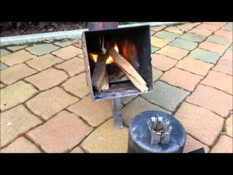 grillanzünder selber bauen raketenofen kohle dotch oven - youtube, Gartenarbeit ideen