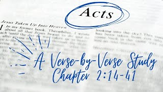 Acts 2:14-41