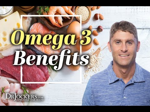 Top 8 Health Benefits of Omega 3 Fatty Acids