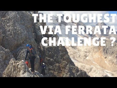 Via Eterna - Brigata Cadore & NW Ridge Punta Penia - The TOUGHEST Via Ferratachallenge?!