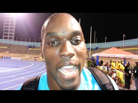 Dwight Thomas happy with finish at Jamaica Trials