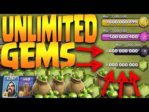 Clash Of Clans Latest Working Hack | April 2018 | Unlimited Gems and elixirs