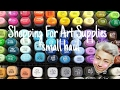 Shopping For Art Supplies +Small Haul!~ |Jynxzi