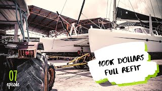 Sailing Catamaran Full Refit - The $100 000 Repair! ✸ SV-LILIPUT⇢2020_07 ✸