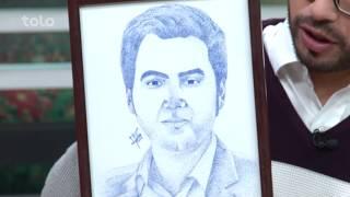 بامداد خوش - تباشیر - صحبت های محمد سالم طاهری (نقاش) در مورد فعالیت های اش