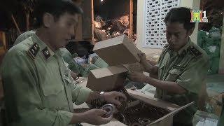 Bắt xe bưu chính Việt Nam chở hàng lậu trong đêm | Tin nóng 24H | Nhật ký 141