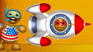 РОБОТЫ и РАКЕТА в КОСМОС ПРОТИВ АНТИСТРЕССА ! смешная игра Kick the Buddy #16 #крутилкины