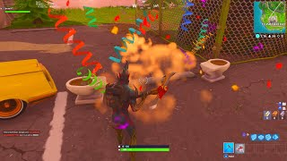 SCORE A GOAL ON DIFFERENT PITCHES LOCATION! WEEK 7 CHALLENGES FORTNITE BATTLE ROYALE