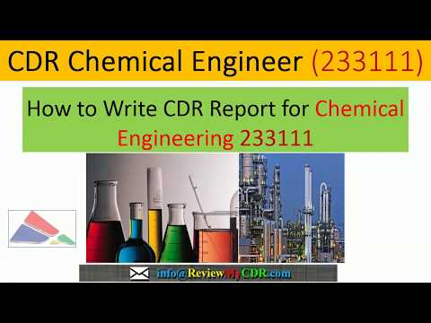 Chemical Engineer CDR / CDR Sample Chemical Engineer Engineers Australia | ReviewMyCDR