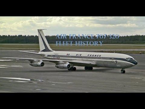 Air France 707-320 Fleet History (1959-1982)