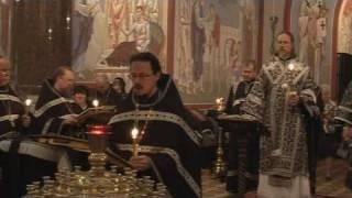 видео: Утреня Великого Пятка с чтением 12 Евангелий