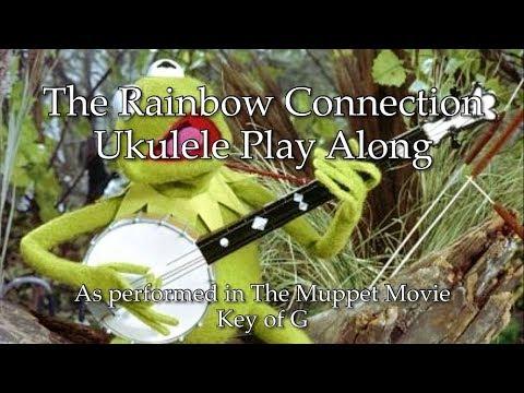 The Rainbow Connection Ukulele Play Along Youtube