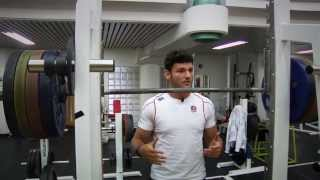 England 7s: Leg workout in the gym