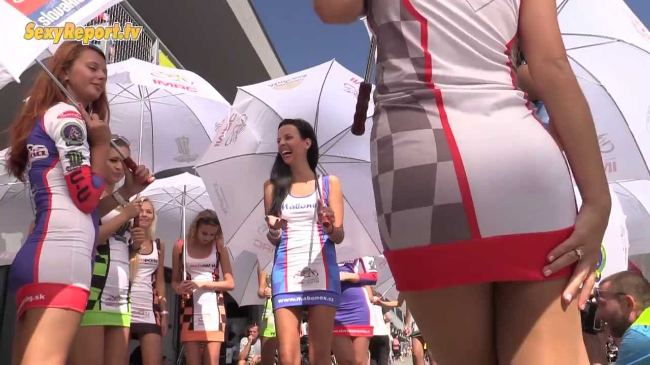 Grid Girls - Hot And Sexy - Alpen Adria 2013 Slovakia Ring - Youtube-9247