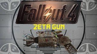 Fallout 4 Unique Weapons - Zeta Gun