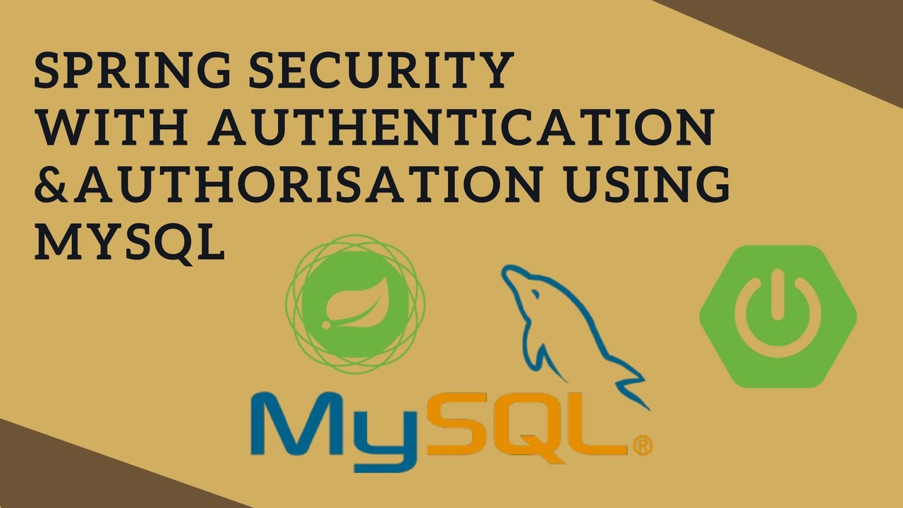 spring how to create authentication