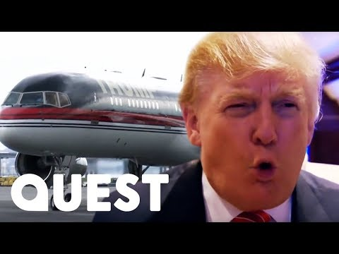 🔴Inside Donald Trump's Hundred Million Dollar Private Plane! | Mighty Planes