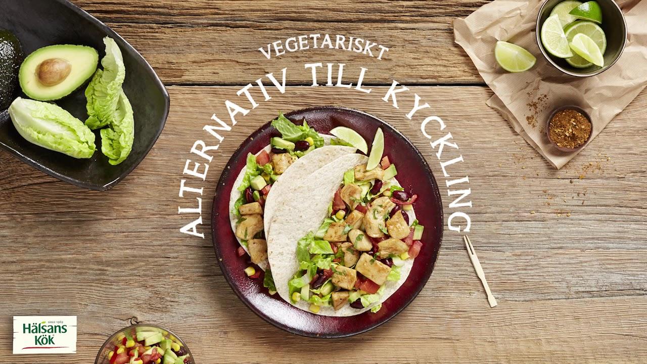 vegetariskt alternativ kyckling