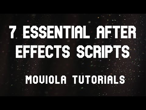 7 Essential AE Scripts