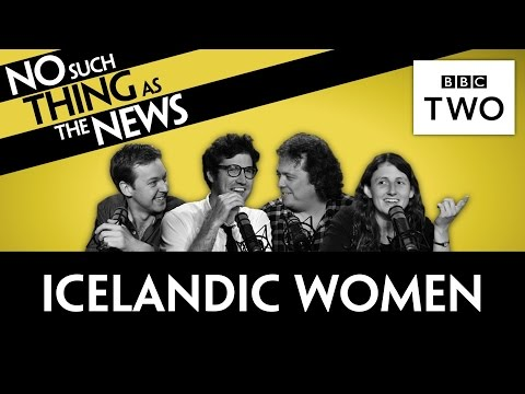 Why All Icelandic Women Left Work Early | No Such Thing As The News
