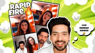 Barsaat Wali Live - Armaan Malik With RJ Karishma Rapid Fire & Singing Barsaat | Love Marriage?