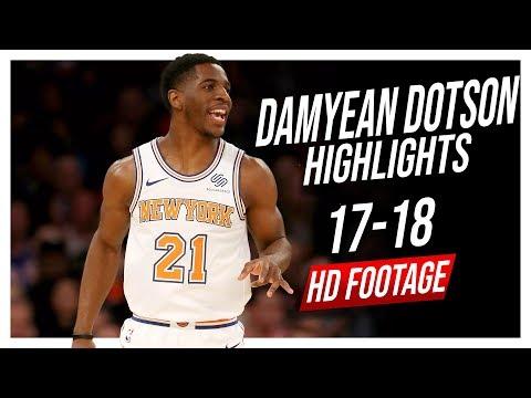 Knicks SG Damyean Dotson 2017-2018 Season Highlights ᴴᴰ
