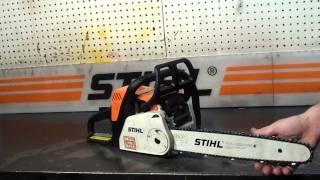 The chainsaw guy shop talk Stihl MS 180 Chainsaw 8 29