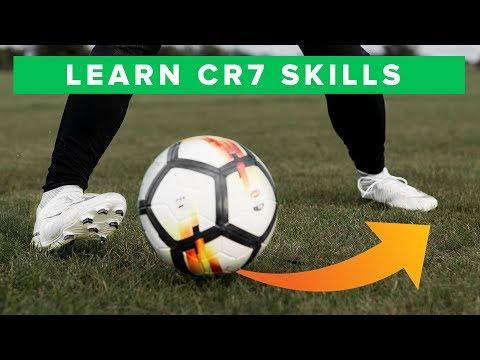 TOP 5 CR7 FOOTBALL SKILLS