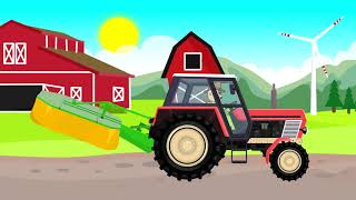 Farmer Cow All Season | Farm Kids | Cow Farmer All Season | Fairy Tale Farmers And Adventures