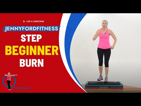 Beginner Step Aerobics Quick Cardio Workout At Home Fitness