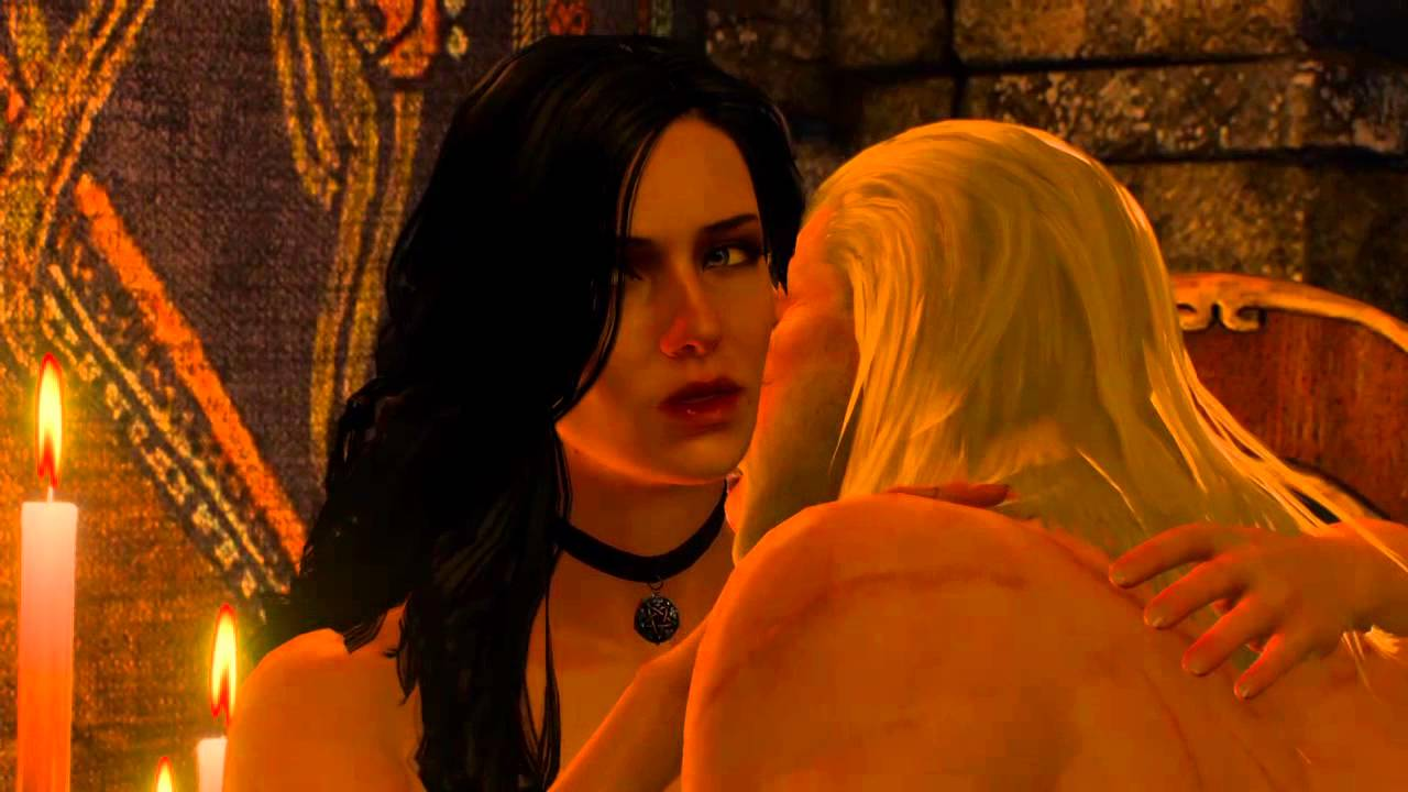 Witcher 3 sex scene