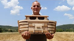 Wood Toy Plans - Noah's Magnificent Father and Son Ark