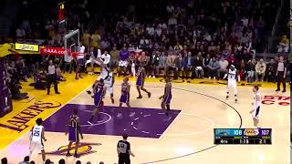 Aaron Gordon Monster And-One Vs. Lakers