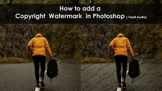 How to Add a Copyright Watermark Pattern in Photoshop