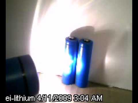 AA Lithium Batteries Test - EI Lithium Battery Performance Test (AA 1.5V Lithium)